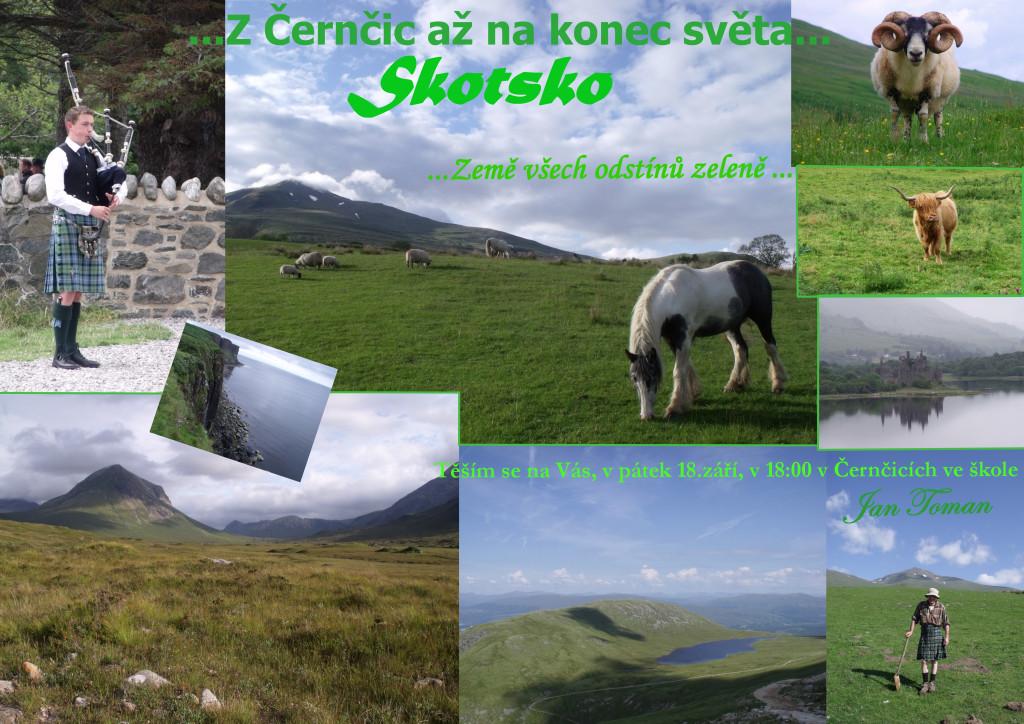 plakát přednáška skotsko