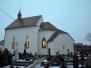 Štědrovečerní setkání před zvonicí