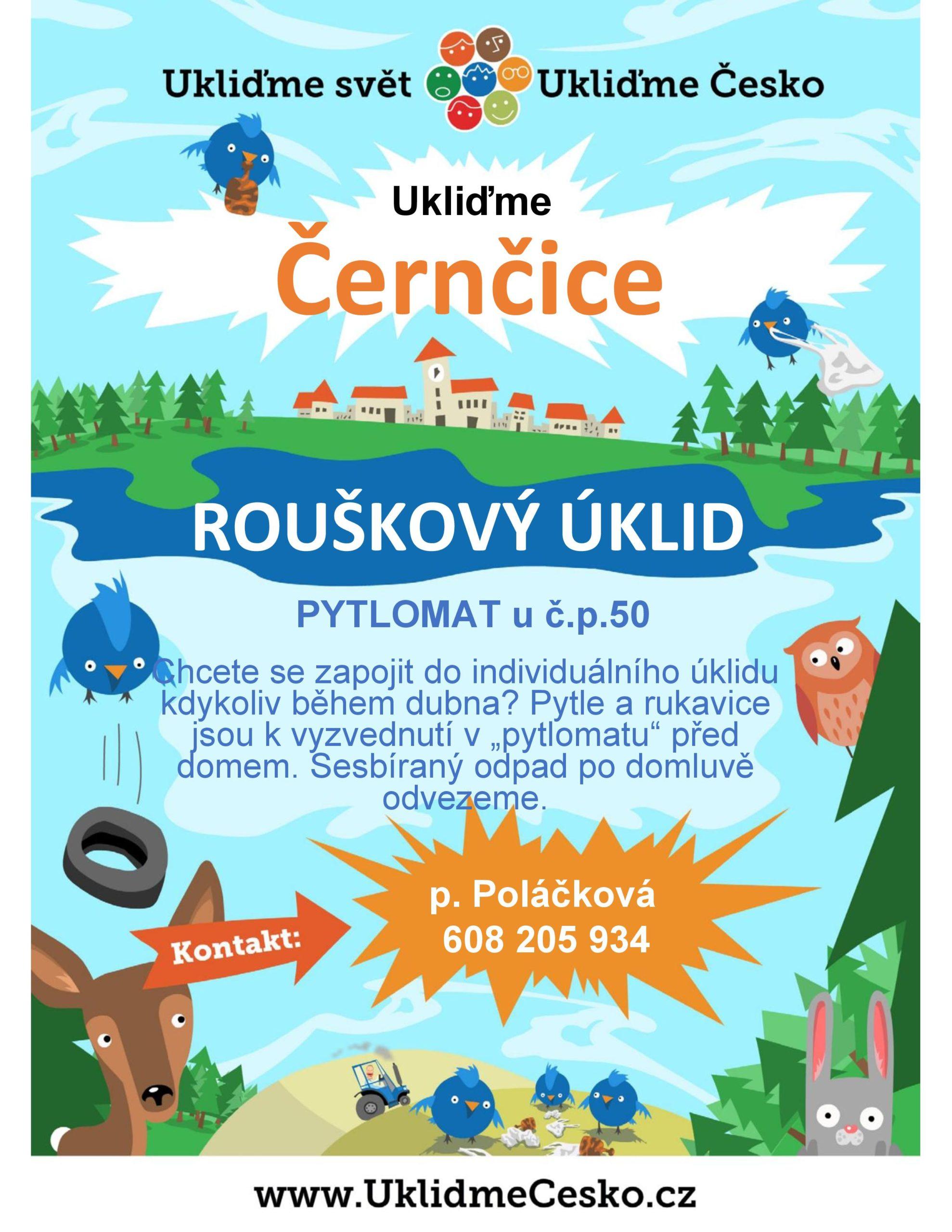 Plakát Ukliďme Černčice